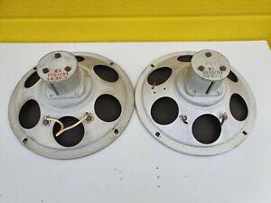 "Philips / Goodmans vintage 8"" Full Range Speakers 5 Ohm 1954"