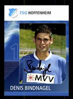 Denis Bindnagel Autogrammkarte TSG Hoffenheim 2006-07 Original Sign+A 141231