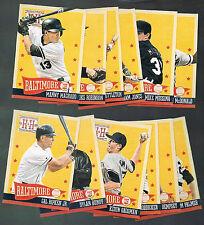 2013 Panini Hometown Heroes Baseball Team Set 12 cards Baltimore Orioles Machado
