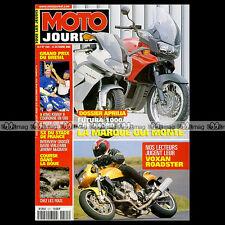 MOTO JOURNAL N°1441 ★ VOXAN ROADSTER ★ SUZUKI GS 500 E GSE ★ GRAND PRIX RIO 2000