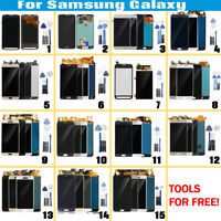 LCD Display + Touch Screen Digitizer Assembly w/ Frame+Tools For Samsung Galaxy