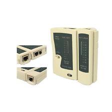 Ethernet Network LAN CAT5E CAT6E Gigabit RJ45 RJ11 RJ12 PC Cable Tester