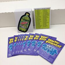 WACKY PACKAGES ANS10 (2013) COMPLETE STICKER CARD SET OF 55 w/ all 10 AWFUL APPS