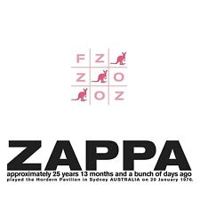 Frank Zappa - FZ: OZ (NEW 2 x CD)