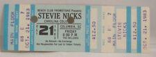 Stevie Nicks - Fleetwood Mac - Vintage 1983 Unused Whole Concert Ticket *Last 1*