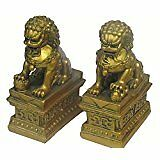 Feng Shui Fu Dog (pair) - For Protection