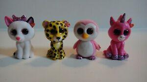 TY Beanie Boos - Mini Boo Figures Lot of 4