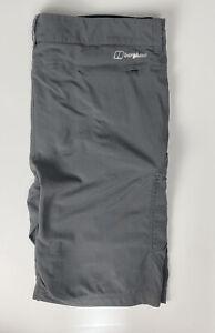 Berghaus    Navigator Shorts In Grey ~ W38 XXL ~ Outdoor Casuals Sportswear