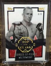 2016 UFC/Top of the Class ~ GEORGES ST PIERRE (#6/8)~(RUBY/RED!) Base Parallel!!