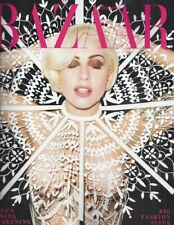 Harpers Bazaar Magazine Lady Gaga Style Stephanie Seymour Takashi Murakami 2014