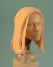 "FH008 Custom Cast Female head sculpt use w//3.75/"" Star Wars Marvel GI Joe figures"