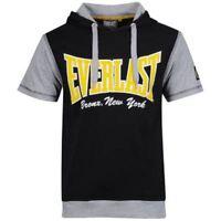Everlast Men's Short Sleeve Layered T-Shirt Black/Grey Small NEW