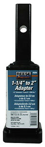"""1-1/4"""" to 2"""" Receiver Adapter - 6"""" Long - Reese Towpower 7020500  70205"""