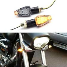 MOTORCYCLE AMBER LED TURN SIGNAL LIGHTS BLINKER FOR HONDA DUAL SPORT DIRT BIKE