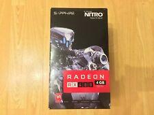 AMD Radeon Sapphire RX480 Nitro+ 4GB Graphics Card GPU GDDR5 PCI-E Dual HDMI/DP