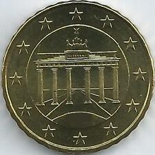 Deutschland 10 Cent Kursmünze (2003 - 2008, ADFGJ), unzirkuliert/bankfrisch