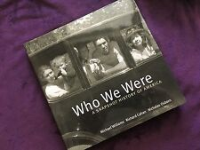 Who We Were, 2008 first edition, hardback book w DJ,  w free shipping