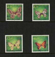 J873 Kazakhstan 1996 butterflies 4v. MNH