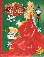Barbie et le chante de Noël - Livre con 6 Fantastiques Puzzle