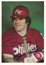 Pete Rose Signed 1981 Topps Giants Autograph Auto PSA/DNA Z10906