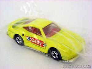 Porsche 959 Getty Yellow Hot Wheels HW 1991 Gasoline Promotion Baggie