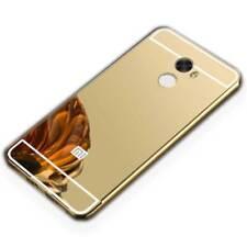 MIROIR / Miroir Pare-chocs en aluminium doré pour Xiaomi Redmi 5 plus étui
