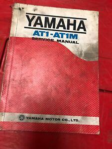 1969 Genuine Yamaha AT1 AT1M Service Manual 125 AT1MX