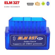 New Mini Bluetooth ELM327 OBD2 II Diagnostic Car Auto Interface Scanner Tool