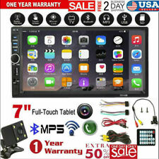 7'' inch DOUBLE 2DIN Car MP5 Player BT Tou+ch Screen Stereo Radio HD+Camera B1D9