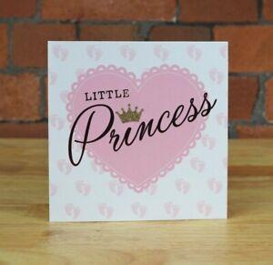 New Baby Card, Girl