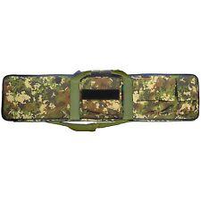 Custodia Borsa Porta Fucile Carrabina da Caccia Militare Vegetato Italiano 106cm