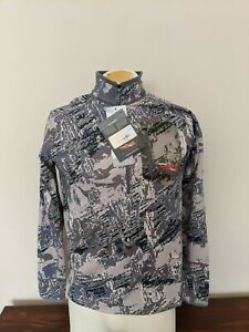 Sitka Gear Traverse Zip T 1/2-Zip GTX Optifade Open Country Mens Size Small New