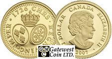 2007 Proof $1 Gold Louis .9999 Fine (NT) (12177)