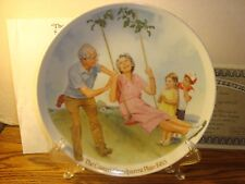 "Bradford Exchange Vintage ""The Swinger"" 1982 Collectible Plate Fine China"