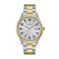 NEW Bulova Dress Men's Quartz Watch - 98B304