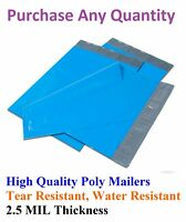 6x9 Blue Poly Mailers Shipping Envelopes Plastic Mailing Bags Colorful 6 x 9