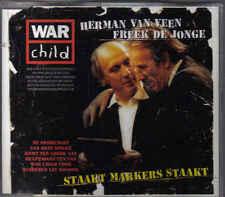 Herman Van Veen&Freek De Jonge-Staakt Makkers Staakt cd maxi single