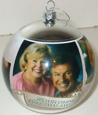 Bill Gloria Gaither Homecoming Christmas 2000 Ornament For Gospel Music Fan RARE
