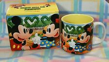 New Disney Mickey & Minnie Mouse In The Park Classic Coffee Mug