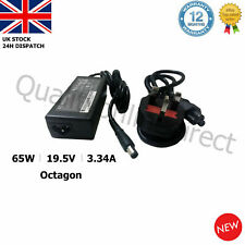 DELL PA21 Inspiron 1545 Laptop Charger Adapter 19.5V 3.34A Octagon Pin DA65NS4-0