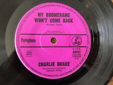 "Charlie Drake- Rare Aussie 45  ""My Boomerang Won't Come Back "" 1962  EX"
