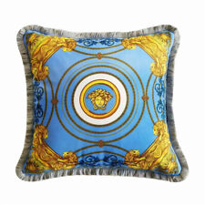 Luxury Barocco Print Decorative Fall Throw Sofa Pillows Velvet Cushion Covers