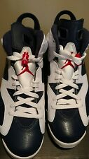 2012 Nike Air Jordan Retro 6 OLYMPIC US Men Size 9