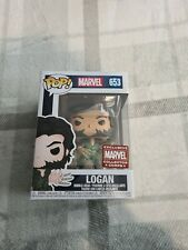 Funko Marvel: LOGAN with Bone Claws #653 Pop - X-Men - Marvel Collector Corps