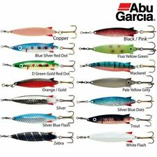 5 X 28gm ZENITH  TOBY STYLE//SPINNERS//LURES WITH TREBLE HOOKS.PIKE LURES.