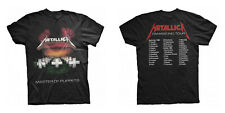 METALLICA Master Of Puppets Tour 1986 T-SHIRT (2-sided, All Sizes) NEW OFFICIAL
