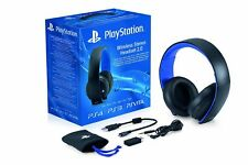 Sony PlayStation Wireless Stereo Headset Windows Mac Ps4 Ps3 7.1 Surround Sound