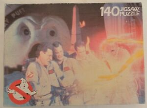 Vintage Rainbow Toys Ghost Busters Jigsaw Puzzle 140 pieces complete 1984