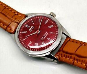 vintage hmt pilot hand winding men's wrist watch good looking