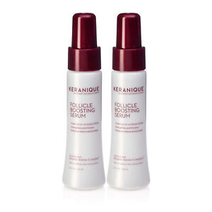 Keranique Follicle Boosting Serum for Hair Growth with Keratin, 2 Pack